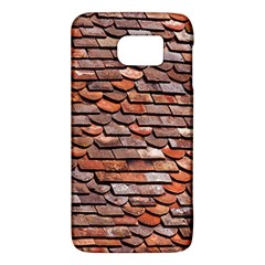 Roof Tiles On A Country House Samsung Galaxy S6 Hardshell Case  by Jojostore