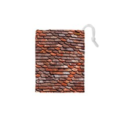 Roof Tiles On A Country House Drawstring Pouch (xs) by Jojostore