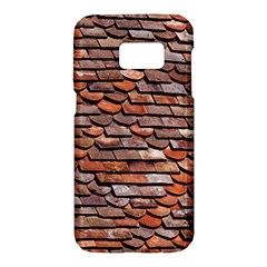 Roof Tiles On A Country House Samsung Galaxy S7 Hardshell Case  by Jojostore