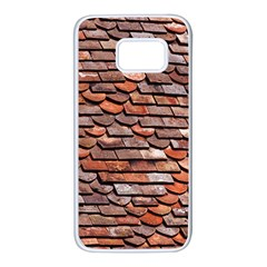Roof Tiles On A Country House Samsung Galaxy S7 White Seamless Case by Jojostore