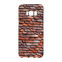 Roof Tiles On A Country House Samsung Galaxy S8 Hardshell Case  by Jojostore