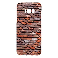 Roof Tiles On A Country House Samsung Galaxy S8 Plus Hardshell Case  by Jojostore