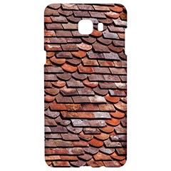 Roof Tiles On A Country House Samsung C9 Pro Hardshell Case  by Jojostore