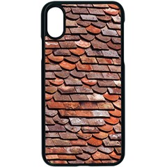 Roof Tiles On A Country House Apple Iphone X Seamless Case (black) by Jojostore