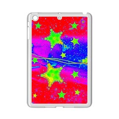Red Background With A Stars Ipad Mini 2 Enamel Coated Cases by Jojostore