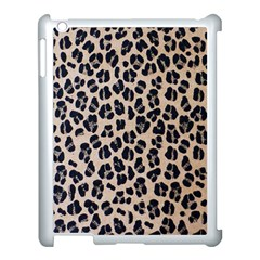 Background Pattern Leopard Apple Ipad 3/4 Case (white) by Jojostore