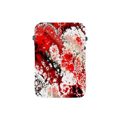 Red Fractal Art Apple Ipad Mini Protective Soft Cases