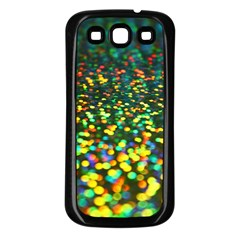 Construction Paper Iridescent Samsung Galaxy S3 Back Case (black)