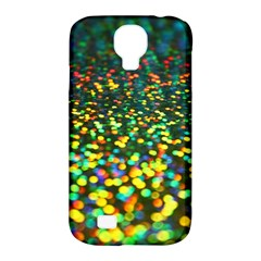 Construction Paper Iridescent Samsung Galaxy S4 Classic Hardshell Case (pc+silicone) by Jojostore
