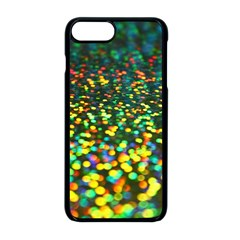 Construction Paper Iridescent Apple Iphone 8 Plus Seamless Case (black)