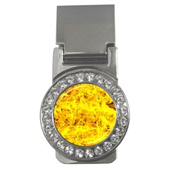 Yellow Abstract Background Money Clips (cz)