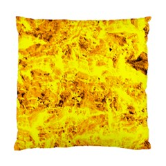 Yellow Abstract Background Standard Cushion Case (one Side)