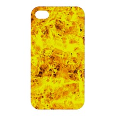 Yellow Abstract Background Apple Iphone 4/4s Hardshell Case