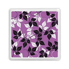 Floral Pattern Background Memory Card Reader (square) by Jojostore