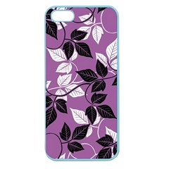 Floral Pattern Background Apple Seamless Iphone 5 Case (color) by Jojostore