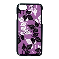 Floral Pattern Background Apple Iphone 8 Seamless Case (black) by Jojostore