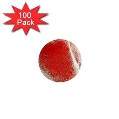 Red Pepper And Bubbles 1  Mini Magnets (100 Pack)  by Jojostore