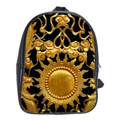 Golden Sun School Bag (large)