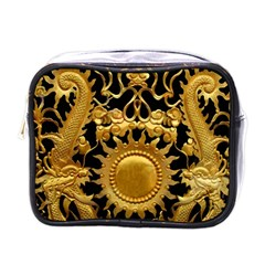Golden Sun Mini Toiletries Bag (one Side)