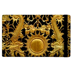 Golden Sun Apple Ipad 2 Flip Case by Jojostore