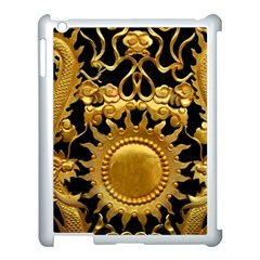 Golden Sun Apple Ipad 3/4 Case (white) by Jojostore