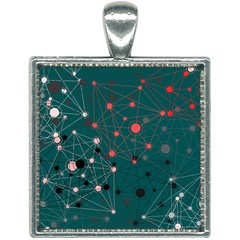 Pattern Seekers The Good The Bad And The Ugly Square Necklace
