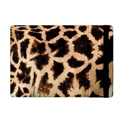 Yellow And Brown Spots On Giraffe Skin Texture Apple Ipad Mini Flip Case by Jojostore