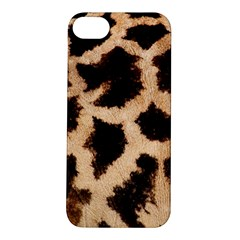 Yellow And Brown Spots On Giraffe Skin Texture Apple Iphone 5s/ Se Hardshell Case by Jojostore