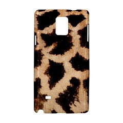 Yellow And Brown Spots On Giraffe Skin Texture Samsung Galaxy Note 4 Hardshell Case