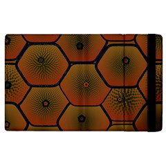 Art Psychedelic Pattern Apple Ipad 2 Flip Case