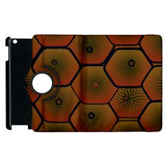 Art Psychedelic Pattern Apple Ipad 2 Flip 360 Case by Jojostore