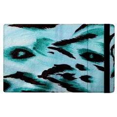 Animal Cruelty Pattern Apple Ipad 2 Flip Case