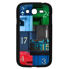 Door Number Pattern Samsung Galaxy Grand Duos I9082 Case (black) by Jojostore