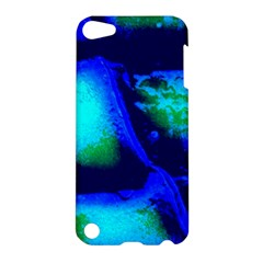 Blue Scales Pattern Background Apple Ipod Touch 5 Hardshell Case