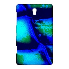 Blue Scales Pattern Background Samsung Galaxy Tab S (8 4 ) Hardshell Case  by Jojostore
