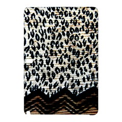 Tiger Background Fabric Animal Motifs Samsung Galaxy Tab Pro 12 2 Hardshell Case