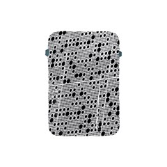 Metal Background Round Holes Apple Ipad Mini Protective Soft Cases