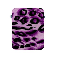 Background Fabric Animal Motifs Lilac Apple Ipad 2/3/4 Protective Soft Cases by Jojostore