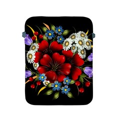 Flower Decoration Bouquet Of Flowers Apple Ipad 2/3/4 Protective Soft Cases