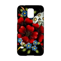 Flower Decoration Bouquet Of Flowers Samsung Galaxy S5 Hardshell Case