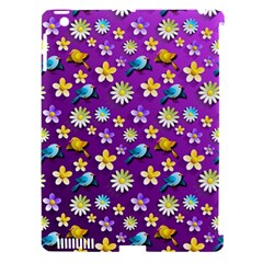 Default Floral Tissue Curtain Apple Ipad 3/4 Hardshell Case (compatible With Smart Cover)