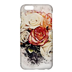 Flowers Background Wallpaper Art Apple Iphone 6 Plus/6s Plus Hardshell Case