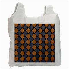 Abstract Seamless Pattern Recycle Bag (one Side)