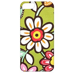 Flowers Fabrics Floral Design Apple Iphone 5 Classic Hardshell Case