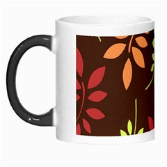 Leaves Foliage Pattern Design Morph Mugs by Sapixe