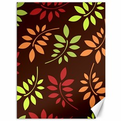 Leaves Foliage Pattern Design Canvas 36  X 48  by Sapixe