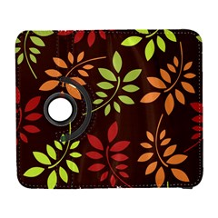 Leaves Foliage Pattern Design Samsung Galaxy S  Iii Flip 360 Case by Sapixe