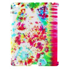 Pattern Decorated Schoolbus Tie Dye Apple Ipad 3/4 Hardshell Case (compatible With Smart Cover) by Jojostore