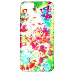 Pattern Decorated Schoolbus Tie Dye Apple Iphone 5 Classic Hardshell Case