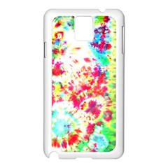 Pattern Decorated Schoolbus Tie Dye Samsung Galaxy Note 3 N9005 Case (white)